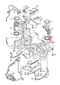 Genuine AUDI SKODA VW SEAT A3 S3 Sportback Lim. quattro. Fuel Tank 1K0201060GE