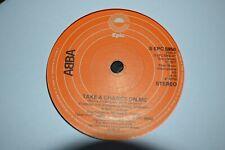 """ABBA  TAKE A CHANCE ON ME     7"""" SINGLE    EPIC   S EPC  5950     1977"""