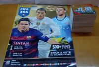 FIFA 365 2016 - 2015/16 complete set of stickers + Empty album + Extra stickets