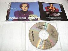 MARTIKA - COLOURED KISSES UK/EUROPE CD SINGLE