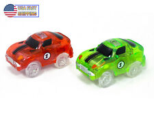 2 Magic Twister Glow In the Dark Race Track Addon Vehicles Race Cars