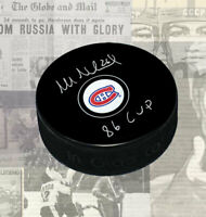 Mats Naslund Montreal Canadiens Autographed Puck