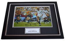 Jonny Wilkinson SIGNED FRAMED Photo Autograph 16x12 display England Rugby COA