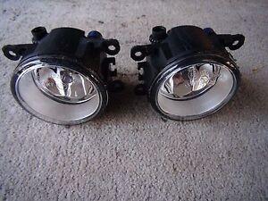 Genuine Ford Territory SZ TS fog lights spot pair 2011 to 2014