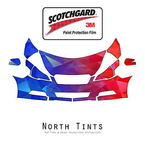 PreCut 3M Scotchgard Paint Protection Clear Bra Kit for Subaru Legacy 2010-2012