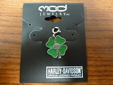 McGuire Harley Davidson Charm NEW 4 Leaf Clover Walnut Creek, CA