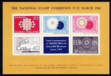 Finnland Block Briefmarkenausstellung Suomi 1961 **, stamp exhibition, MNH