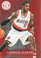 2012-13 Totally Certified Basketball Red #2 LaMarcus Aldridge /499 Trail Blazers