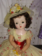 Vintage Madame Alexander Cissy Doll, GORGEOUS Brunette! Custom OOAK outfit! WOW!