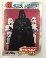 1980 Topps Star Wars The Empire Strikes Back #1 TITLE CARD
