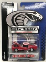 Shelby Collectibles 1967 Ford Mustang GT500 coupe, Red, whilte stripes, NIP NRFP