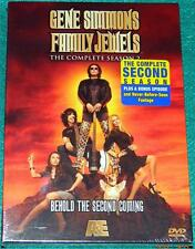 GENE SIMMONS FAMILY JEWELS: THE COMPLETE SEASON 2, DVD, 3 DISCS, NEW