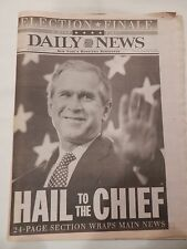 "DAILY NEWS THURSDAY, DECEMBER 14, 2000 ""HAIL TO THE CHIEF"" GEORGE W. BUSH WINS"