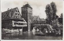 "AK ""Nürnberg - Am Henkersteg""  1931 gelaufen"