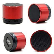 Rouge sans fil bluetooth mini haut-parleur portable pour iphone ipad MP3 radio fm
