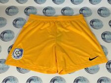 CHERNOMORETS ODESSA FOOTBALL SOCCER SHORTS NIKE YELLOW MENS UKRAINE L