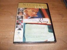 Nicole Johnson Live: Stepping Into The Ring (DVD 2002) NEW