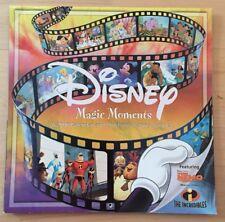 "Disney Magic Moments 2006 Wall Calendar Art Framed 12""x 12"" Pre Owned"