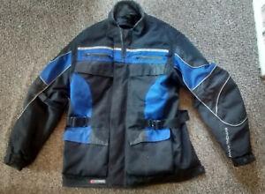 FRANK THOMAS Aqua Pore textile Motorcycle Jacket  size  L