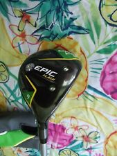 CALLAWAY EPIC FLASH 23* 9 WOOD PROJECT X EVEN FLOW GREEN  5.5 REG 55G SHAFT
