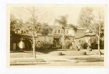 Joe Brown Stucco House RPPC Beverly Hills—Antique Los Angeles Photo 1939