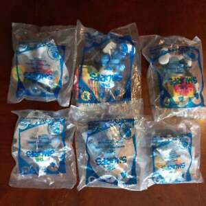 NEW 2011 The Smurfs McDonalds Happy Meal Toys 6 total
