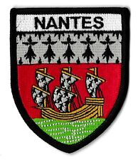 0ae931e485ee Patche Nantes écusson brodé blason patch thermocollant Atlantique Nantais