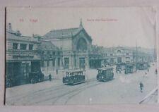 carte  postale LIEGE  Gare des Guillemins    REF. 707