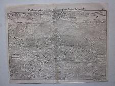 1575 WEISSENBUR Cosmographia universalis Sebastian Münster Weißenburg in Bayern