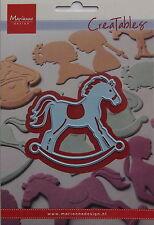 Marianne creatables Die Cut - Rocking Horse- craft, card making, 0347