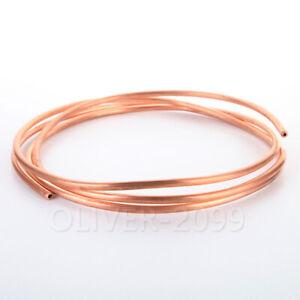 1 Meter 99.9% Cu Soft Copper Tube Coil Refrigeration Air conditioner copper pipe