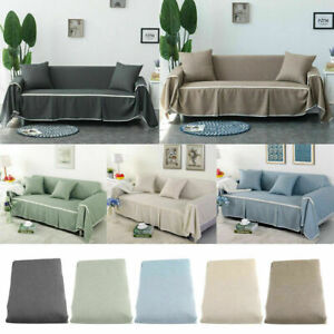 1/2/3/4 Seater Elastic Comfortable Sofa Cover Couch Covers Protector Slipcover
