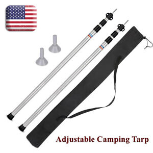 5x Tent Accesories Aluminum Alloy Ultralight Outdoor Camping Pole Connect Hood