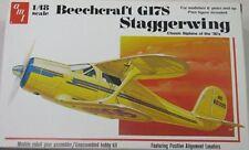 AMT 1/48 Beechcraft G17S Biplane Model Kit 886