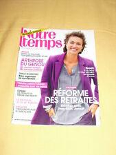 NOTRE TEMPS N°526 octobre 2013