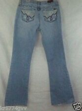 """Buckle Blue 2 Distressed Light Wash Boot Cut Stretch Fit Jeans Size 29 Inseam31"""""""