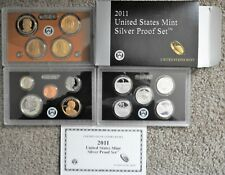 2010 2011 S America the Beautiful National Park Proof Sets in Original Lens Case