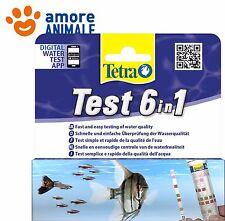Tetra Test 6 in 1 - Determina 6 valori dell'acqua in un'unica soluzione