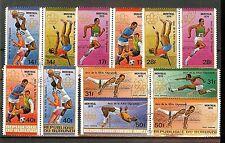 Burundi  - MiNr  1268/70 + 1273/76 - siehe Foto