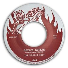 "SIROCCO BROS - ""DEVIL'S GUITAR"" b/w ""BOP"" MAGNIFICO ROCKABILLY 45 - SEE IT!"