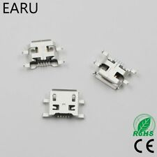 10pcs Micro USB 5pin B type 0.8mm Female Connector For Mobile Phone Mini USB