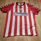Mens hummel Derry City Away football shirt 2011 Size XL