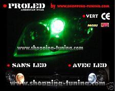 2 VEILLEUSE LED W5W VERT PEUGEOT 306 307 308 309