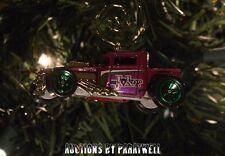 Joker Hot Rod Classic Batman TV Show RARE Custom Christmas Ornament! 1/64 Adorno