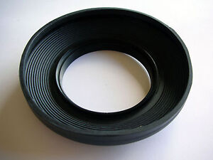 WIDE ANGLE 58MM PROFESSIONAL RUBBER COLLAPSIBLE LENS HOOD FOR SLR LENSES QUALITY