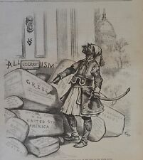Thomas Nast. The Corruption Period. Harper's Weekly, 1876.