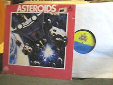 Atari Asteroids lp vinyl record Kid Stuff Records 5032 synth '82 john braden WOW