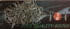 100 RC BODY CLIPS CAR TRUCK BUGGY  BODY PINS 1/10 SCALE + 4 THIN RC BODY WASHERS