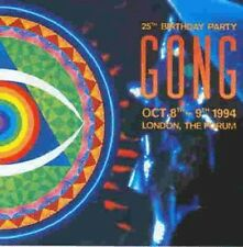 Gong 25th Birthday Party London Forum 1994 Live 2-CD NEW SEALED Daevid Allen