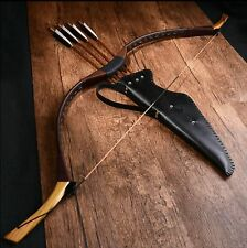 Traditional leather bows and arrows Mongolia suit archery bow recurve bow